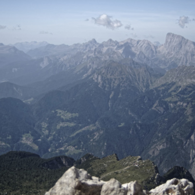 View From the summit of Civetta