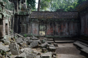 Inner courtyard and doorway