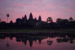 Angkor after dawn