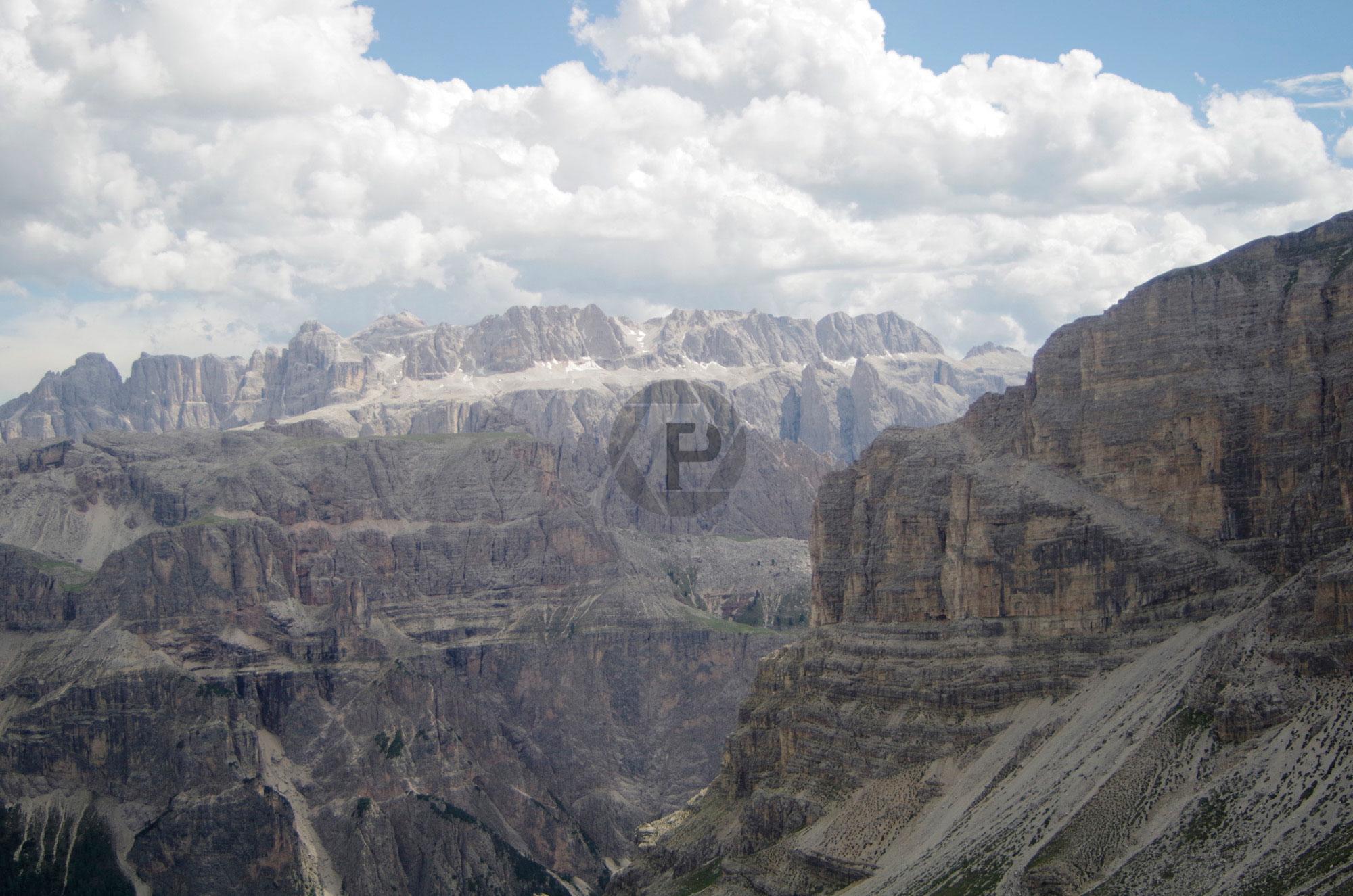 Mount Stevia, Selva and the Dolomiti High Path