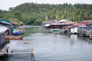Prek Svay the fishing village