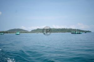 Fishing boats outside Palm Beach