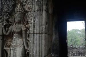 Each doorway has amazingly detailed carvings