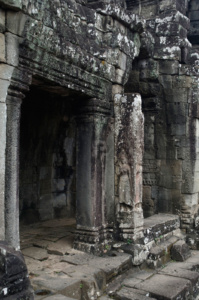 Doorway and entrance into the Bayon temple